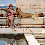 Xanthe and Phaon, Lawrence Alma-Tadema