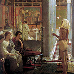 Egyptian Juggler , Lawrence Alma-Tadema