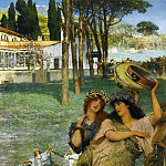 Lawrence Alma-Tadema - A Spring Festival (On the Road to the Temple of Ceres)