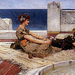 Loves votaries, Lawrence Alma-Tadema