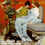 Lawrence Alma-Tadema - Confidences