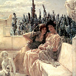Lawrence Alma-Tadema - Whispering noon
