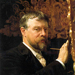 Lawrence Alma-Tadema - Self-Portrait