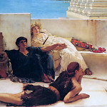 Lawrence Alma-Tadema - A reading from Homer