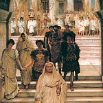 Lawrence Alma-Tadema - The Triumph of Titus Alma Tadema