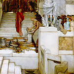 Lawrence Alma-Tadema - After the Audience