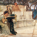 Sappho and Alcaeus, Lawrence Alma-Tadema