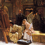 The Picture Gallery , Lawrence Alma-Tadema