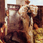 Who is it?, Lawrence Alma-Tadema
