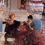Lawrence Alma-Tadema - Love's Jewelled Fetter