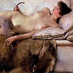 Lawrence Alma-Tadema - The Tepidarium 1881