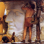 Lawrence Alma-Tadema - Sculptors in Ancient Rome