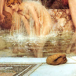 Lawrence Alma-Tadema - 1879 Lawrence Alma-Tadema - Strigils and sponges