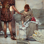 Lawrence Alma-Tadema - A Silent Greeting