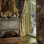 Lawrence Alma-Tadema - Drawing Room, Holland Park (1887)