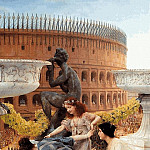 Lawrence Alma-Tadema - Alma-Tadema, Lawrence - The Colosseum - 1896