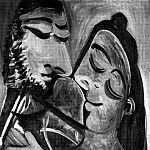 1970 Couple 2, Pablo Picasso (1881-1973) Period of creation: 1962-1973