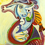 Pablo Picasso (1881-1973) Period of creation: 1962-1973 - 1971 Buste de torero