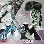 1967 Mousquetaire et nu couchВ, Pablo Picasso (1881-1973) Period of creation: 1962-1973
