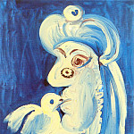 Pablo Picasso (1881-1973) Period of creation: 1962-1973 - 1971 Femme Е loiseau
