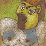 1970 Buste de femme 1, Pablo Picasso (1881-1973) Period of creation: 1962-1973