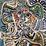 1972 Mousquetaire Е lВpВe [Homme], Pablo Picasso (1881-1973) Period of creation: 1962-1973