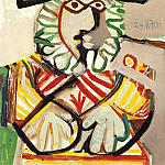 1970 Buste dhomme au chapeau 2, Pablo Picasso (1881-1973) Period of creation: 1962-1973