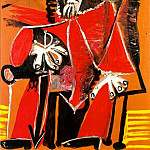 1969 Mousquetaire Е lВpВe assis, Pablo Picasso (1881-1973) Period of creation: 1962-1973