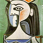 1962 Buste de femme, Pablo Picasso (1881-1973) Period of creation: 1962-1973