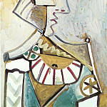Pablo Picasso (1881-1973) Period of creation: 1962-1973 - 1971 Buste au chapeau 1