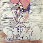 Pablo Picasso (1881-1973) Period of creation: 1962-1973 - 1972 Buste dhomme