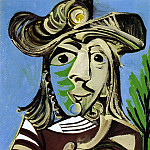 1969 Buste dhomme les mains croisВes, Pablo Picasso (1881-1973) Period of creation: 1962-1973