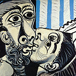 1969 Le baiser 1, Pablo Picasso (1881-1973) Period of creation: 1962-1973