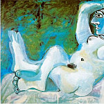 Pablo Picasso (1881-1973) Period of creation: 1962-1973 - 1964 Grand nu