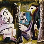 1962 Les dВjeuner sur lherbe V , Pablo Picasso (1881-1973) Period of creation: 1962-1973