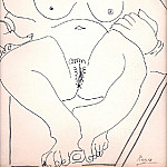 1967 femmes nues, Pablo Picasso (1881-1973) Period of creation: 1962-1973