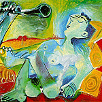 1965 Laubade 2, Pablo Picasso (1881-1973) Period of creation: 1962-1973