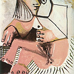 Pablo Picasso (1881-1973) Period of creation: 1962-1973 - 1971 Nue assise 1