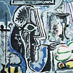 Pablo Picasso (1881-1973) Period of creation: 1962-1973 - 1964 Le peintre et son modКle II