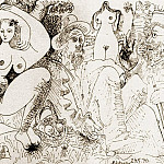 1970 Le dВjeuner sur lherbe, Pablo Picasso (1881-1973) Period of creation: 1962-1973