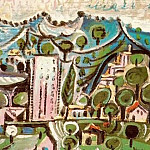 1965 Paysage de Mougins 2, Pablo Picasso (1881-1973) Period of creation: 1962-1973