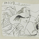 1972 Nu couchВ 2, Pablo Picasso (1881-1973) Period of creation: 1962-1973