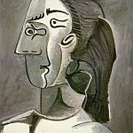 1962 TИte de femme , Pablo Picasso (1881-1973) Period of creation: 1962-1973