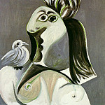1970 Buste de femme Е loiseau, Pablo Picasso (1881-1973) Period of creation: 1962-1973