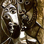 1969 Couple 1, Pablo Picasso (1881-1973) Period of creation: 1962-1973