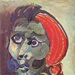 1970 TИte 2, Pablo Picasso (1881-1973) Period of creation: 1962-1973