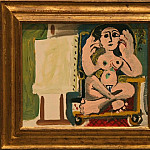 1965 Le modКle dans latelier 1, Pablo Picasso (1881-1973) Period of creation: 1962-1973