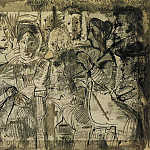 Pablo Picasso (1881-1973) Period of creation: 1962-1973 - 1964 Tableau de famille