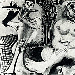 1967 Nu assis et flЦtiste 1, Pablo Picasso (1881-1973) Period of creation: 1962-1973