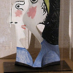 1962 TИte de femme 1, Pablo Picasso (1881-1973) Period of creation: 1962-1973